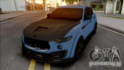 Maserati Levante Mansory для GTA San Andreas