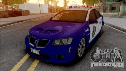 Pontiac G8 GXP LSPD для GTA San Andreas