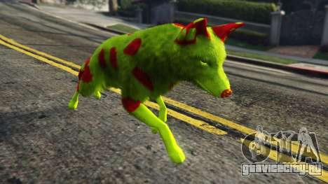 The Legit Radioactive Coyote для GTA 5