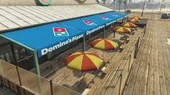 Dominos Pizza для GTA 5