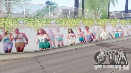LA Freeway Murals Mod для GTA San Andreas