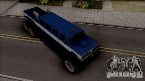 Bobcat Lifted Truck для GTA San Andreas