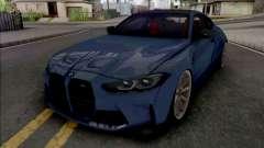 BMW M4 2021 WideBody для GTA San Andreas