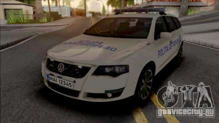 Volkswagen Passat Politia De Frontiera v2 для GTA San Andreas