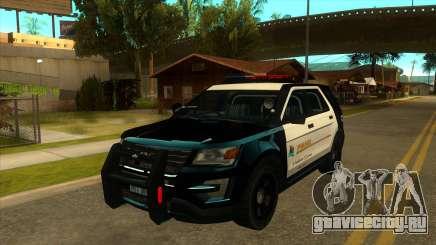 MGRP Police Rancher V1 для GTA San Andreas