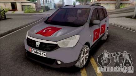 Dacia Lodgy Turkish для GTA San Andreas