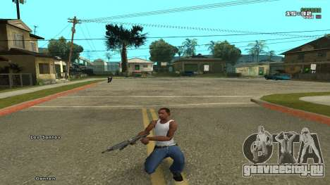 Real Reload mod v1.0 by nesguide2 для GTA San Andreas