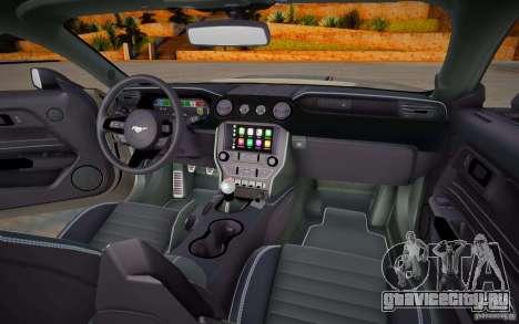 Ford Mustang 2021 для GTA San Andreas