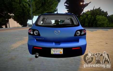Mazda Speed 3 2019 для GTA San Andreas