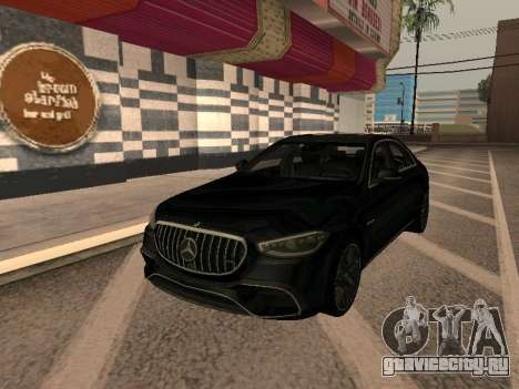 Mercedes-Benz S63 (W223) для GTA San Andreas