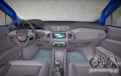 Chevrolet Onix Activ 2019 для GTA San Andreas