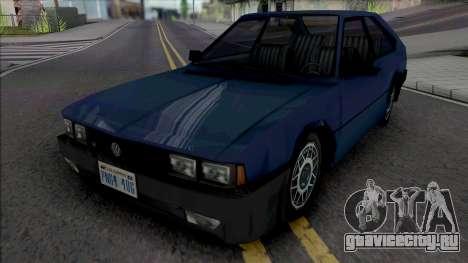Volkswagen Passat GTS Pointer 1988 для GTA San Andreas