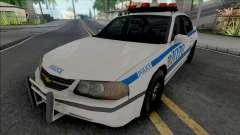 Chevrolet Impala 2003 NYPD (1024x1024 Texture) для GTA San Andreas