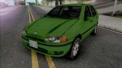 Fiat Palio 1997 Improved v2 для GTA San Andreas