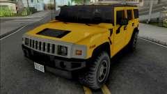 Hummer H2 2003 Improved для GTA San Andreas