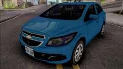 Chevrolet Onix LT 2013 для GTA San Andreas