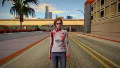 Jill Valentine Zombie для GTA San Andreas