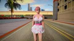 DOAXVV Honoka Sweety Valentines Day для GTA San Andreas