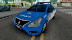 Nissan Versa 2019 PMERJ Improved v2.1 для GTA San Andreas