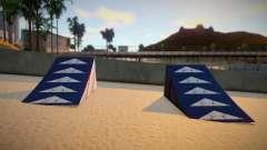 Beach Ramps Cleo Mod Verona Beach для GTA San Andreas