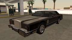 Lincoln Continental Mark V 1979 SA для GTA San Andreas