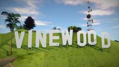 Vinewood Sign From GTA V для GTA San Andreas