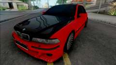 BMW 5-er E39 Red Black для GTA San Andreas