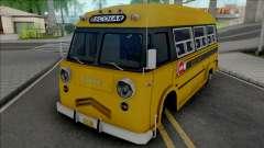 Dodge Bus Escolar v2 для GTA San Andreas