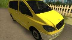 Mercedes-Benz Vito Van 2007 для GTA Vice City