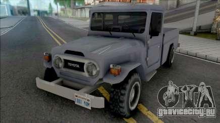 Toyota Land Cruiser (Pick Up) для GTA San Andreas