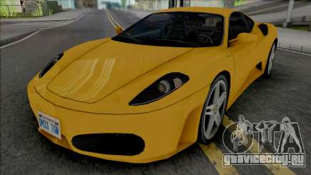 Ferrari F430 Improved для GTA San Andreas
