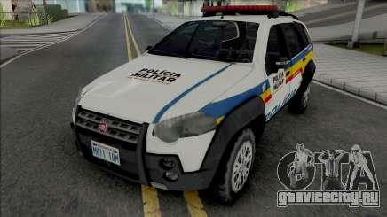 Fiat Palio Weekend Adventure 2013 PMMG для GTA San Andreas