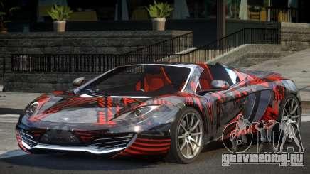 McLaren MP4-12C PSI-R PJ6 для GTA 4