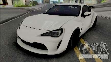 Subaru BRZ Artisan Spirit для GTA San Andreas