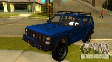 GTA V Canis Seminole Frontier для GTA San Andreas