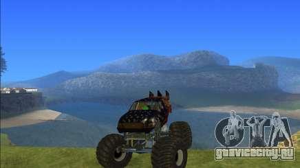Kisaan Monster Truck для GTA San Andreas