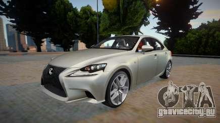 Lexus IS350 F-sport 2014 для GTA San Andreas