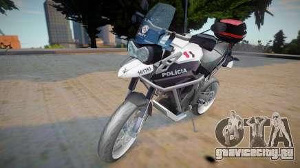 Triumph Tiger 800 - PMESP для GTA San Andreas