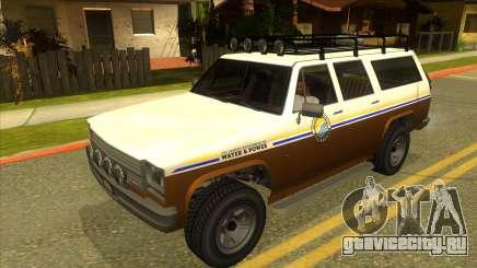 GTA V Rancher XL для GTA San Andreas