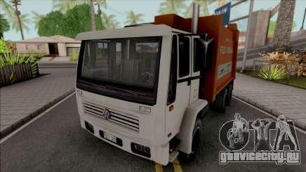 Volkswagen 16200 Garbage Truck (DFT-30 Edition) для GTA San Andreas