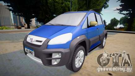 Fiat Idea Adventure 2011 для GTA San Andreas