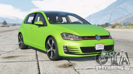 Volkswagen Golf GTI 5-door (Typ 5G) 2015〡add-on для GTA 5