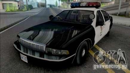 Chevrolet Caprice 1992 LAPD Improved для GTA San Andreas