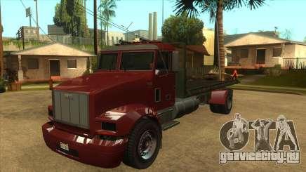 GTA V MTL Flatbed (IVF) для GTA San Andreas