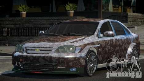 Chevrolet Lacetti SP-R L5 для GTA 4