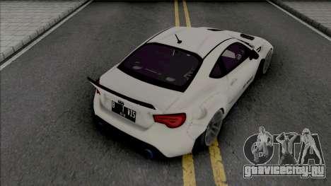 Subaru BRZ Rocket Bunny v3 для GTA San Andreas