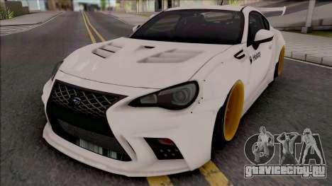 Subaru BRZ Drift для GTA San Andreas
