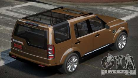 Land Rover Discovery TR для GTA 4