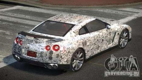 Nissan GT-R Egoist L1 для GTA 4