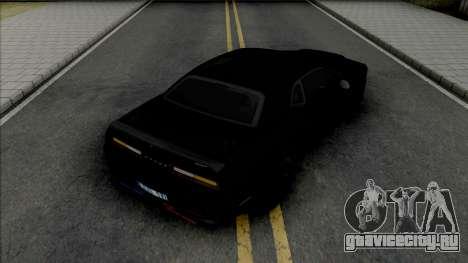 Dodge Challenger SRT Demon Unmarked Police для GTA San Andreas